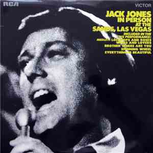 Jack Jones - Jack Jones In Person At The Sands, Las Vegas mp3 download