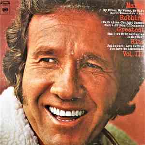 Marty Robbins - Marty Robbins' Greatest Hits Vol. III mp3 download