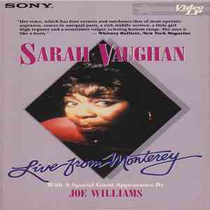 Sarah Vaughan - Live From Monterey mp3 download