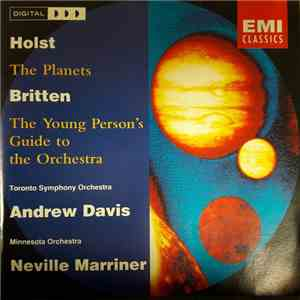 Gustav Holst Davis Benjamin Britten Sir Neville Marriner Andrew Parrott - Holst . Purcell . Britten mp3 download