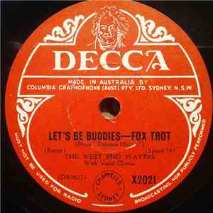 The West End Players - Let's Be Buddies / Do I Love You ? mp3 download