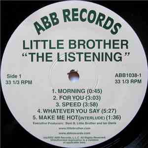 Little Brother  - The Listening mp3 download