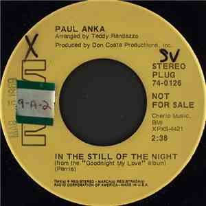 Paul Anka - In The Still Of The Night mp3 download