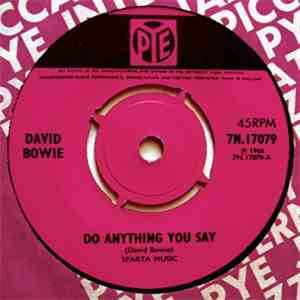 David Bowie - Do Anything You Say mp3 download