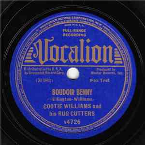 Cootie Williams & His Rug Cutters - Boudoir Benny / Ain't The Gravy Good mp3 download