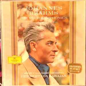Johannes Brahms, Berlin Philharmonic Orchestra, Herbert von Karajan - The Four Symphonies mp3 download