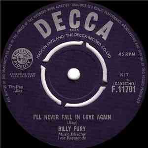 Billy Fury - I'll Never Fall In Love Again / In Summer mp3 download