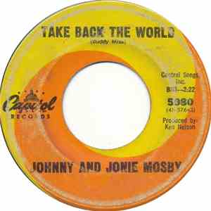 Johnny And Jonie Mosby - Take Back The World mp3 download