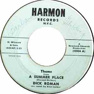 Dick Roman - Theme From A Summer Place / Butterfly mp3 download
