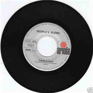 People's Blend - Call Me A Friend / Happiness Is Like A Bloomin' Tree mp3 download