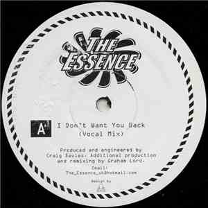 The Essence  - I Don't Want You Back mp3 download