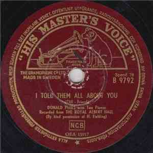 Donald Peers - I Told Them All About You / Medley mp3 download