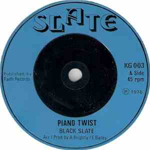 Black Slate - Piano Twist