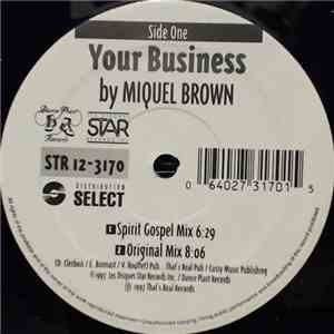 Miquel Brown / Space 2000 - Your Business / Everybody Get Funky mp3 download