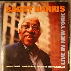 Barry Harris  - Live In New York mp3 download