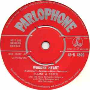 Elaine & Derek And The Rita Williams Singers - Wooden Heart / Bluebird mp3 download