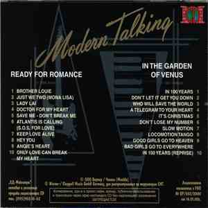 Modern Talking - Ready For Romance / In The Garden Of Venus mp3 download